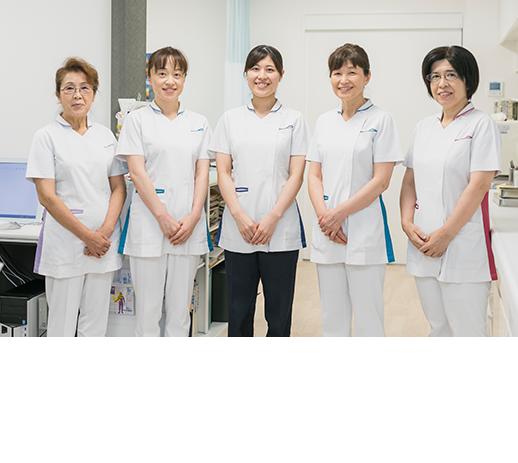 看護部のスタッフの写真
